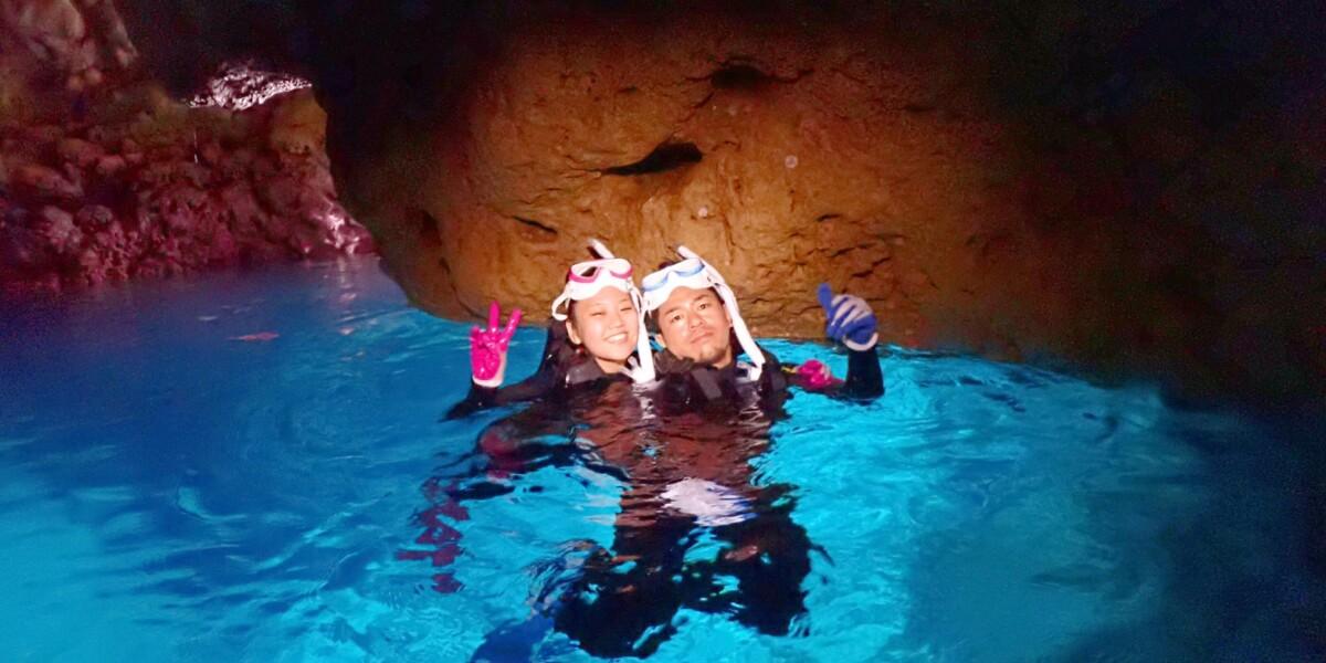 ★青の洞窟ビーチシュノーケリング体験
