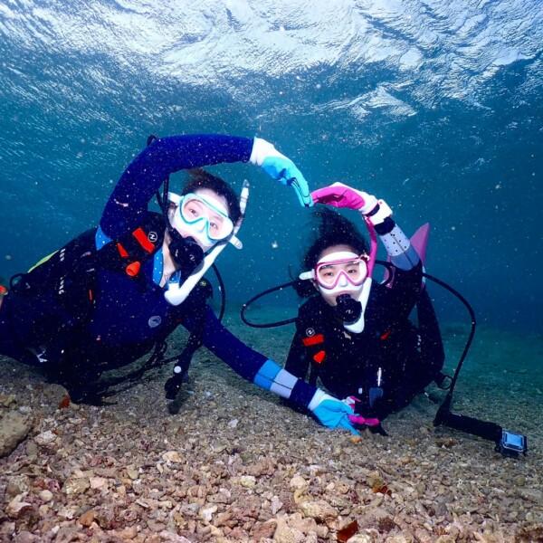★美ら海ビーチ体験ダイビング